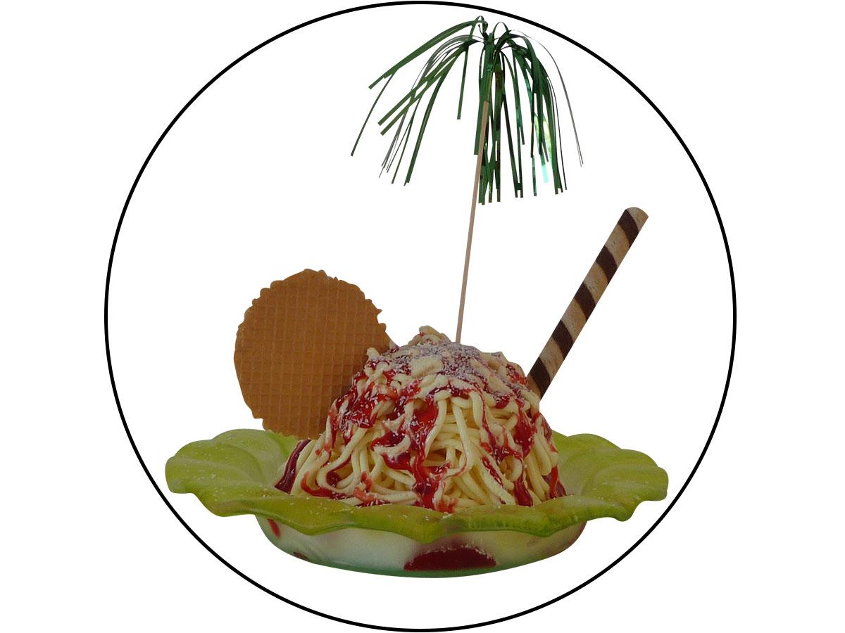 Spaghetti ice